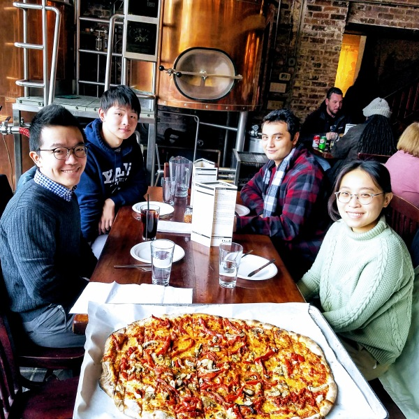 Lab lunch at BAR
