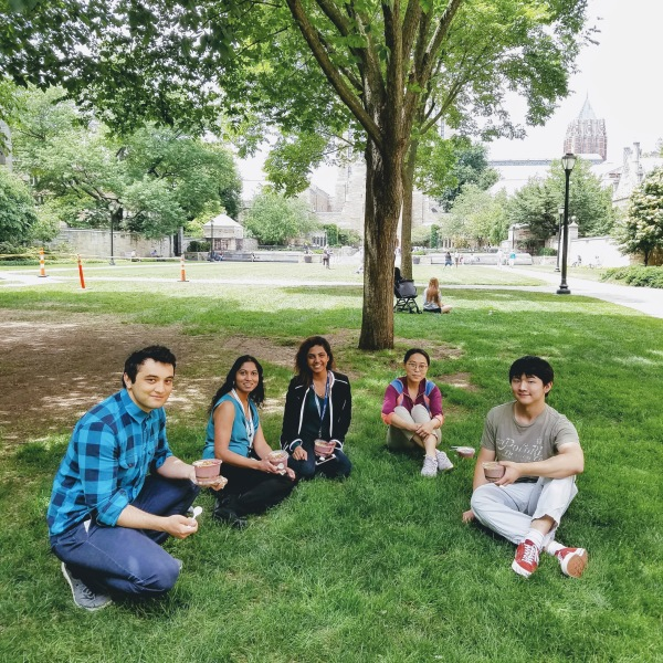 Lunch with the Gopal Lab
